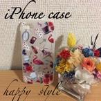 iPhone7ケース フラミンゴ*アリス