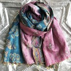 Kantha silk stole (Gradation type)