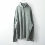 Polo by Ralph Lauren khaki zip-up sweat-shirt