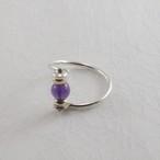 紫水晶の指輪
