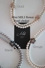 Mini MILI flower パールチョーカー