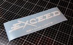 Exceed Logo Sticker
