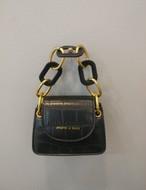 クロコダイルミニチェーンバッグ ショルダーバッグ 韓国ファッション