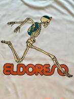ELDORESO=エルドレッソ 『Born Runman T』 ボーンランマンT #WHITE