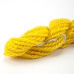 コリデール黄色 ゲージ用糸サンプル (corri13)手紡ぎ毛糸オーダー(送料込)