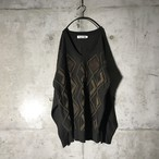 [used] diamonds designed knit