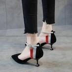 【shoes】配色抜群強いエレガントパンプス