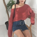 long-sleeve knitted 537