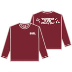 【予約〜11/21】GOT TO GET PUNK LONG SLEEVE(BURGUNDY)