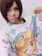 七瀬さくらフルグラTシャツ(designed by OTOE)