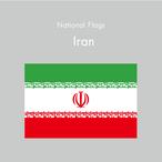 国旗ステッカー イラン