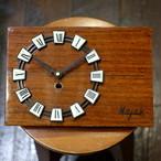 リプロダクト・壁掛け時計 木製(1970's 旧ソビエト) JOIE INFINIE DESIGN