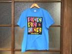 """MARUFORLIA TEE """"表向きは非公認?実は公認ブートTシャツ?!""""  (TAKAYA'S TURQUOISE BLUE)"""