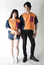 ビッグTシャツ(NAVY)