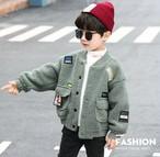 (KIDS)ラムソウルもこもこブルゾン 子供服 キッズ キッズウェア 韓国ファッション