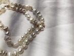 Freshpearl Gold  Round  Necklace 淡水パールゴールドラウンドネックレス