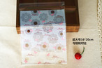 OPPラッピング袋 ホワイトレースリボン 16×20