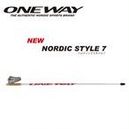 ONE WAY ノルディックウォーク NORDIC STYLE 7 アグレッシブプロモデル ow10228