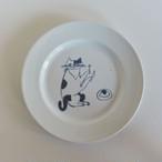 【トラネコボンボン 】猫の丸皿(大)