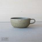 【寺嶋 綾子】スープカップ(オリーブグリーン)