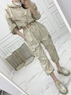 Vaioナイロンセットアップ セットアップ 韓国ファッション