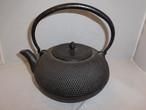 黒鉄瓶(あられ大)iron kettle(hail)(No5)