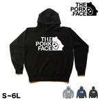 【THE PORK FACE】ロゴ大 プルオーバー パーカー S〜6L