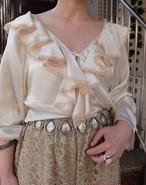 Ruffle blouse/ラッフル ブラウス