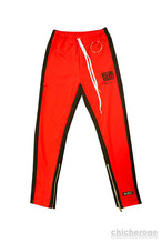 【SHI〜師〜】COLOR TRACK PANTS RED