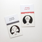 Be myself sticker (set)
