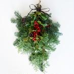 フレッシュモミの木のクリスマススワッグ