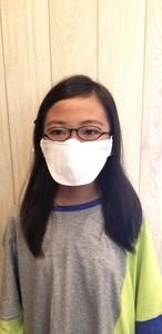 メガネマスク ホワイト Sサイズ