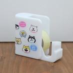 【しばんばん】テープカッター(ごましばんばんがいる)【付箋 犬柄 柴犬  56921】