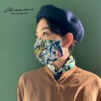 ◆即納◆オリジナルプリントマスク◆アートペイントパンダ柄
