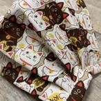 布マスク 猫柄を集めてみました 着物にも似合います 裏地抗菌綿オックス
