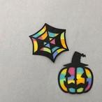 ハロウィンに!!お得な4個入りセット~ペーパーステンドグラス手作りキット