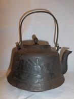 月に野兎図鉄瓶 iron kettle(moon& rabbit)
