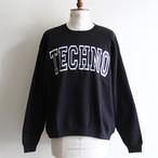 is-ness music【 mens 】techno sweat