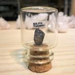 アイオライト タンザニア産 宝石の森シリーズ ガラスボトルジュエリー bs093