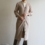 PHEENY【 womens 】12g rib knit long cardigan