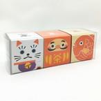 縁起物|箱茶|玉露/玄米茶/ほうじ茶 3点セット