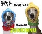 ≪先行ご予約≫ZUKKINNU犬のための、あったか頭巾