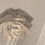 【新作予約】LION logo T-suit【baby】