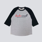 BAKEWALL LOGO RAGLAN SLEEVES T-SHIRT