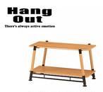 HangOut(ハングアウト) ポール フィールド ラック 2段 コンパクト 持ち運び 収納 アウトドア キャンプ グッズ POL-FR2