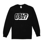 0867 / Long Sleeve T-Shirt / Blockbuster / Logo / Black