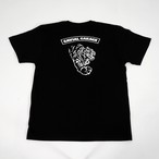 "GARAGE ""TIGER"" TEE (BLACK) / GAVIAL"