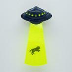 UFO吸い上げブローチ(青)