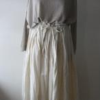 gauze# プリーツスカート