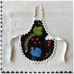 人形用 エプロン ドールサイズ 刺繍 ヴィンテージ